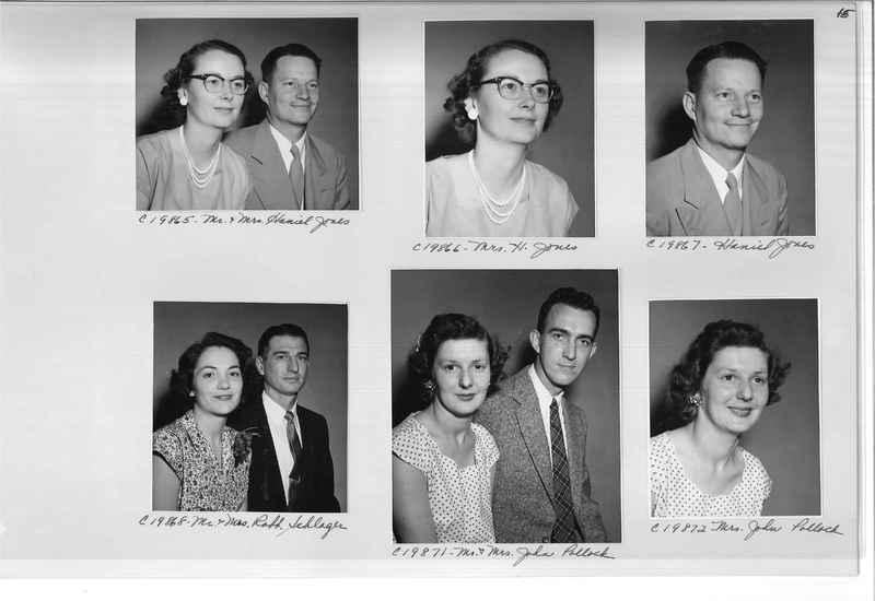 Mission Photograph Album - Portraits #09 Page 0015