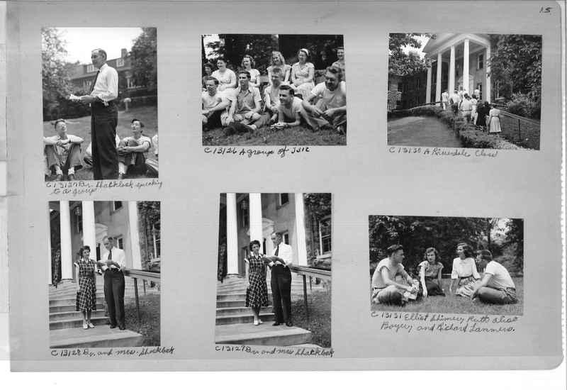 Mission Photograph Album - Portraits #13 Page 0015