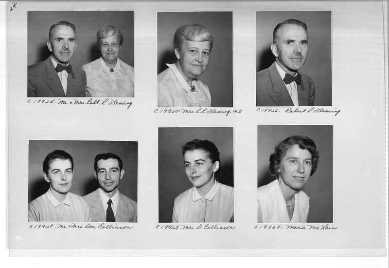 Mission Photograph Album - Portraits #09 Page 0024