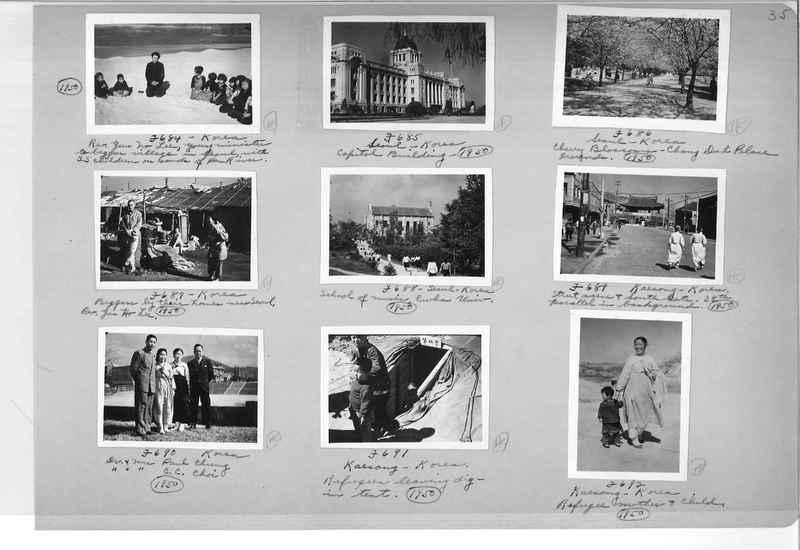 Mission Photograph Album - Korea #6 page 0035