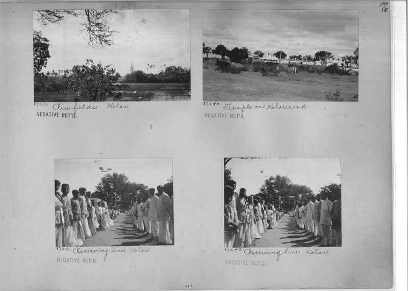 Mission Photograph Album - India #10 Page 0015