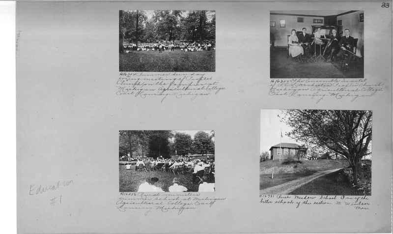 Mission Photograph Album - Education #1 page 0033