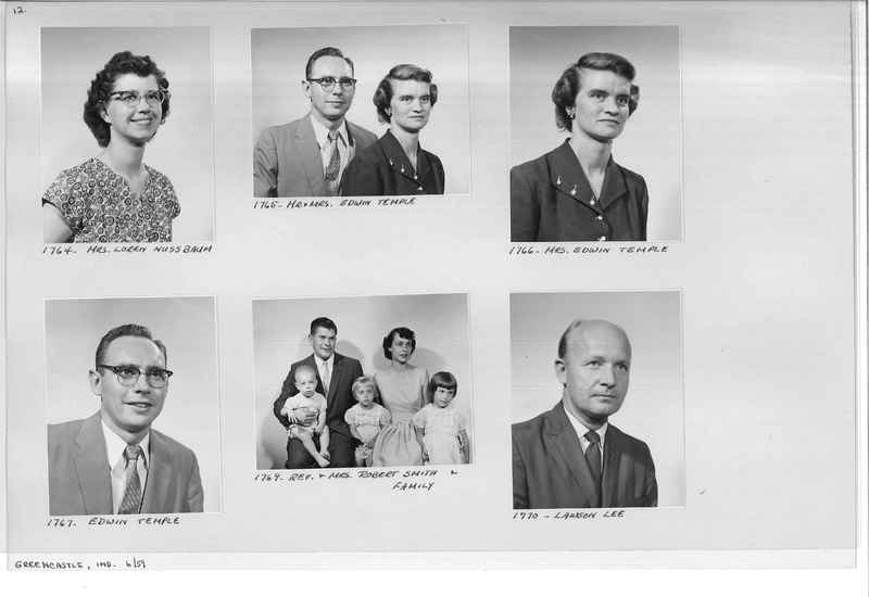 Mission Photograph Album - Portraits #12 Page 0012