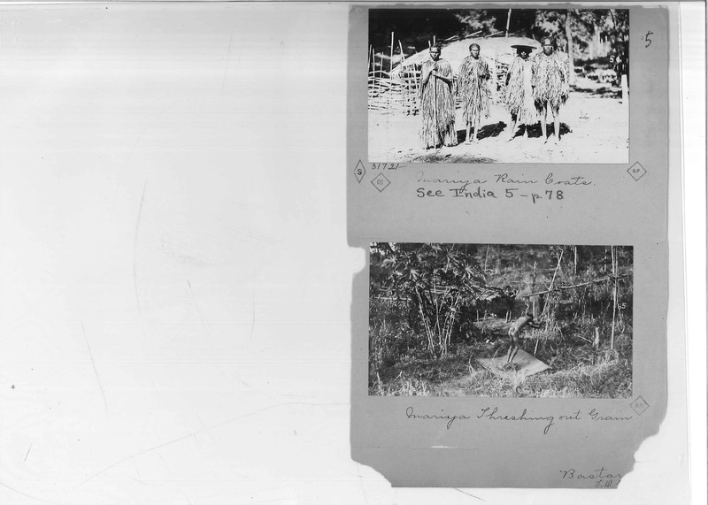 Mission Photograph Album - India - O.P. #02 Page 0005