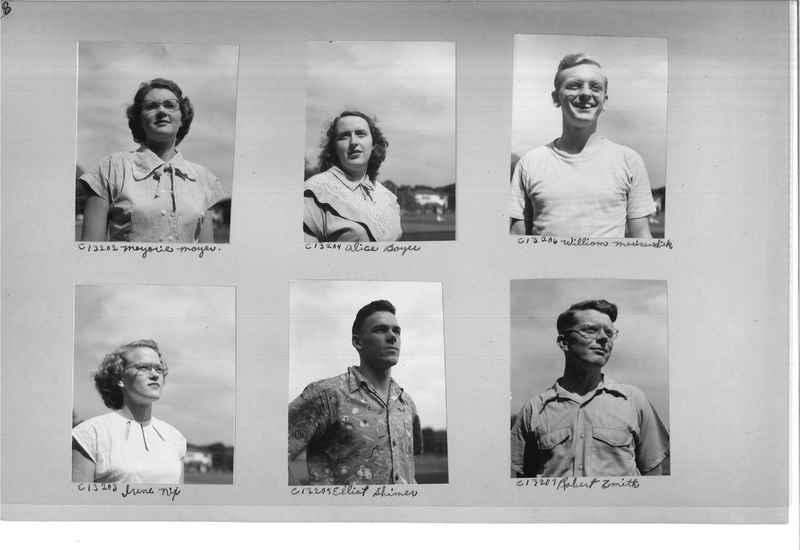 Mission Photograph Album - Portraits #13 Page 0028