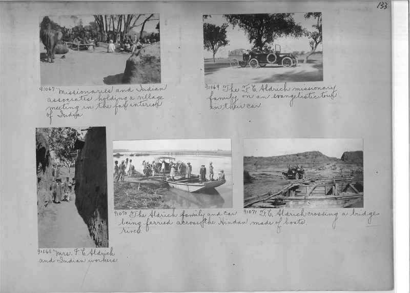 Mission Photograph Album - India #10 Page 0133