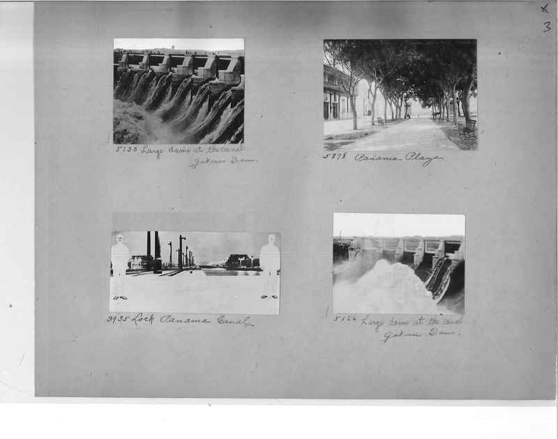 Mission Photograph Album - Panama #1 page  0003