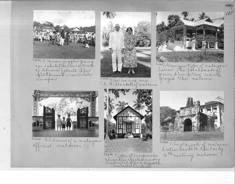 Mission Photograph Album - Malaysia #7 page 0127