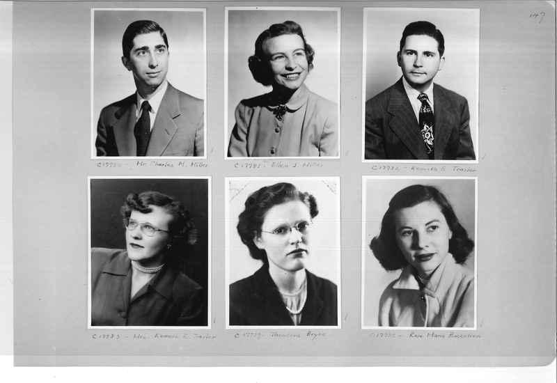 Mission Photograph Album - Portraits #07 Page 0147