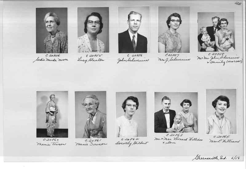 Mission Photograph Album - Portraits #09 Page 0125