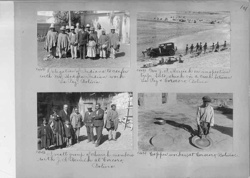 Misson Photograph Album - South America #8 page 0101