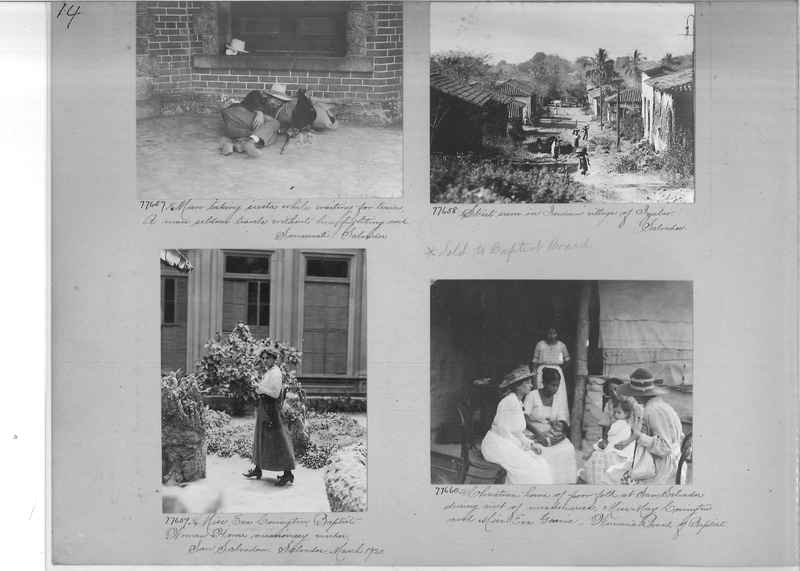 Mission Photograph Album - Panama #04 page 0014
