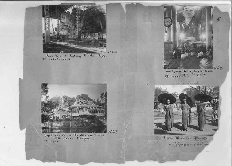 Mission Photograph Album - Burma #1 page 0005