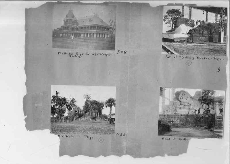 Mission Photograph Album - Burma #1 page 0003