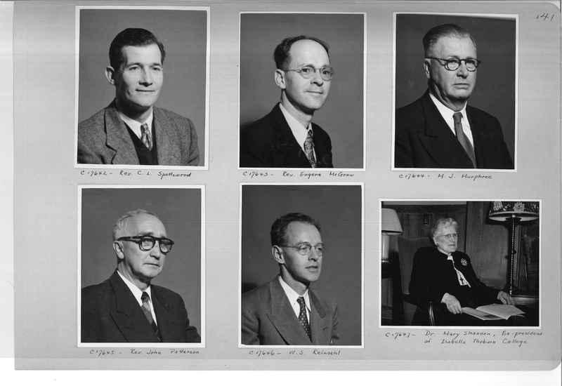 Mission Photograph Album - Portraits #07 Page 0141