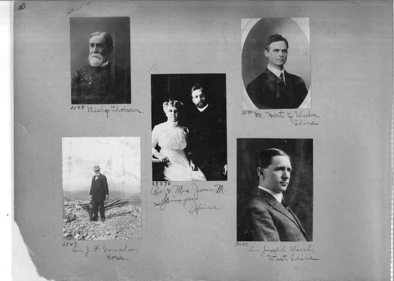Mission Photograph Album - Portraits #1 page 0010