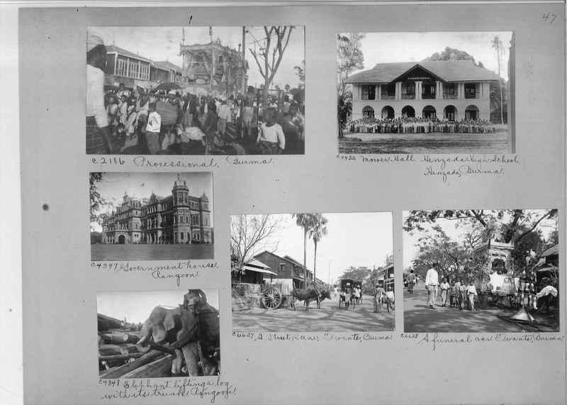 Mission Photograph Album - Burma #2 page 0047