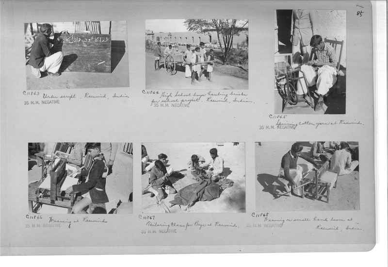 Mission Photograph Album - India #14 Page 0085
