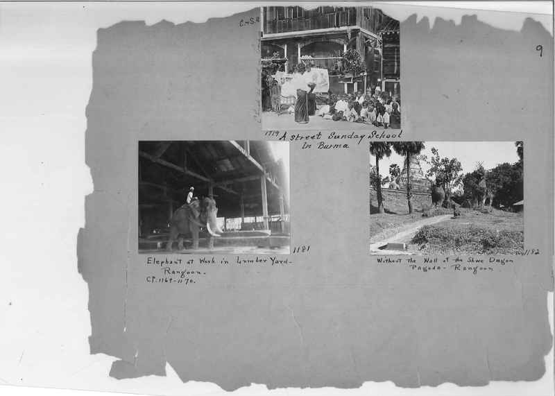 Mission Photograph Album - Burma #1 page 0009