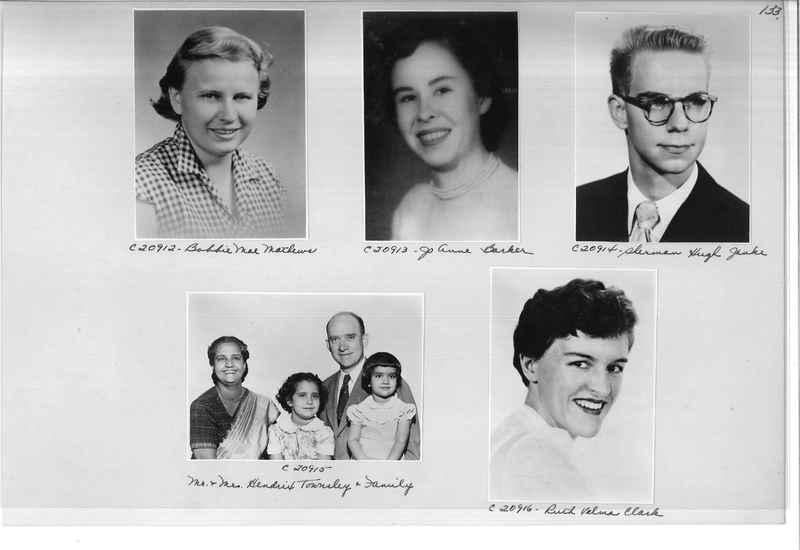 Mission Photograph Album - Portraits #09 Page 0133