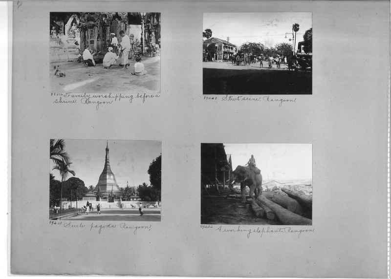 Mission Photograph Album - Burma #2 page 0002