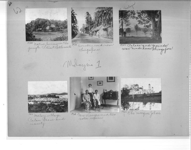 Mission Photograph Album - Malaysia #1 page 0062