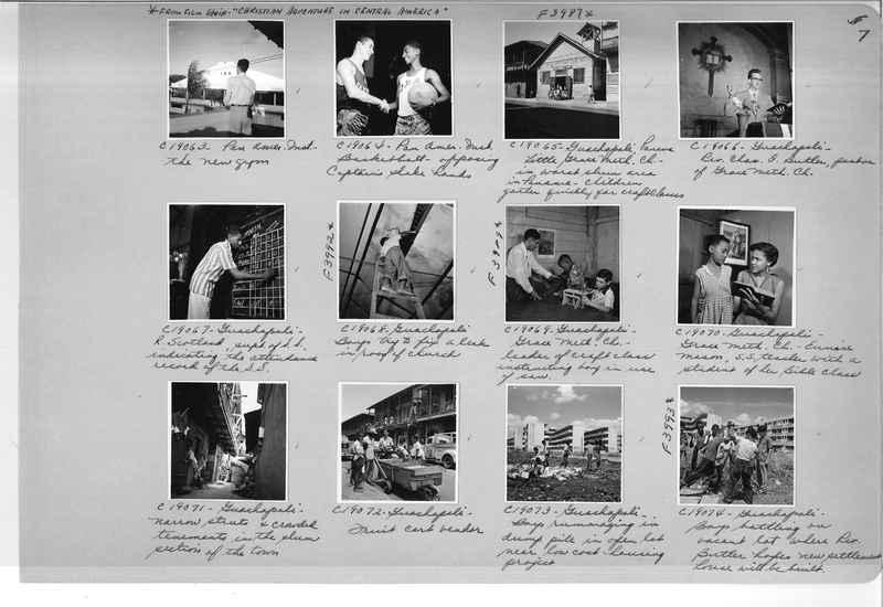 Mission Photograph Album - Panama #05 page 0007