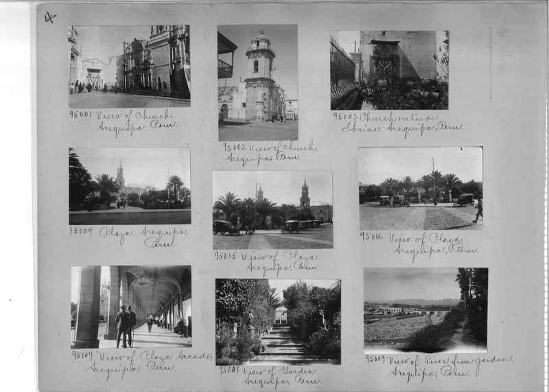 Misson Photograph Album - South America #8 page 0004