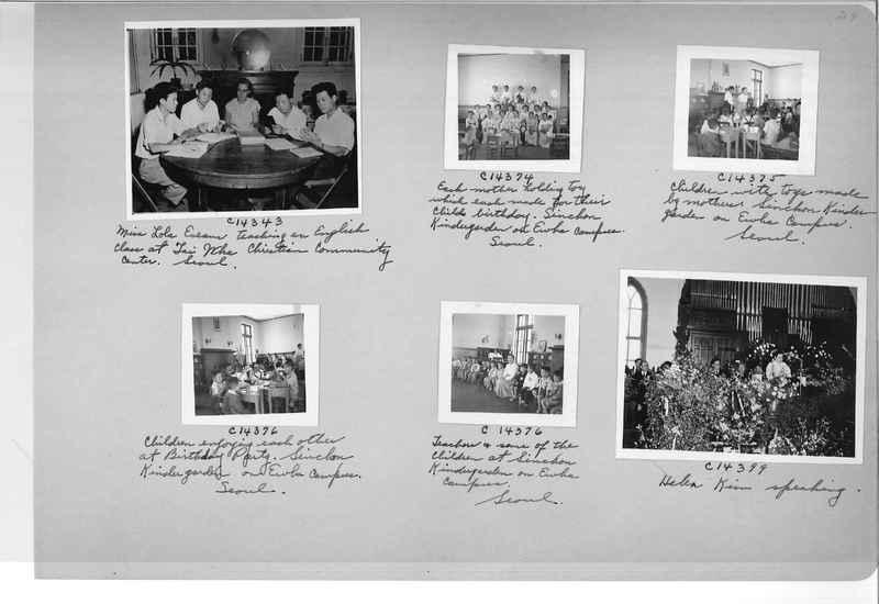 Mission Photograph Album - Korea #6 page 0029