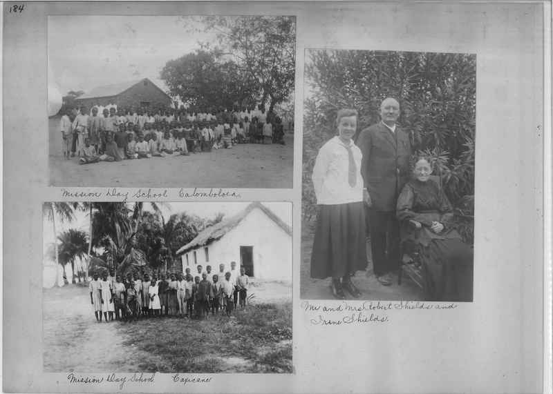 Mission Photograph Album - Africa O.P. #4 page 0184