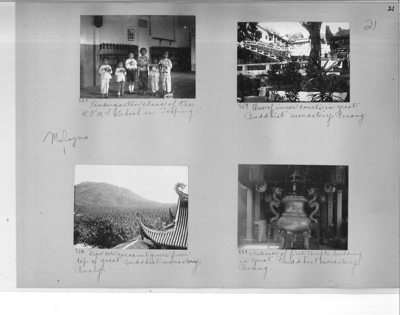 Mission Photograph Album - Malaysia #1 page 0021
