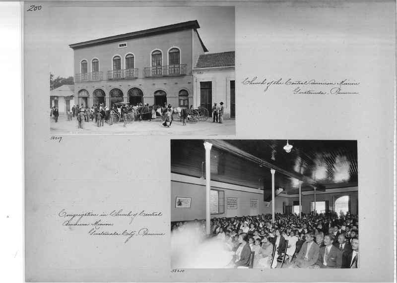 Mission Photograph Album - Panama #02 page 0200