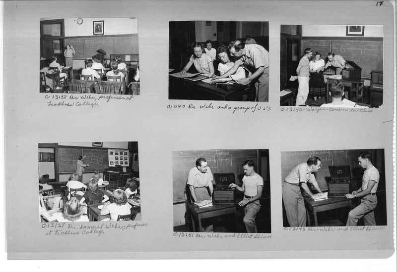 Mission Photograph Album - Portraits #13 Page 0017