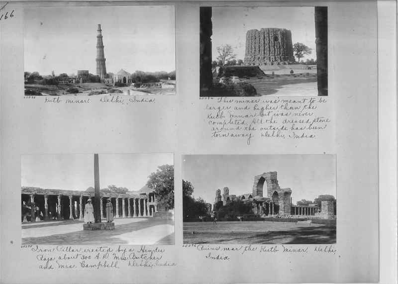 Mission Photograph Album - India #08 Page 0166