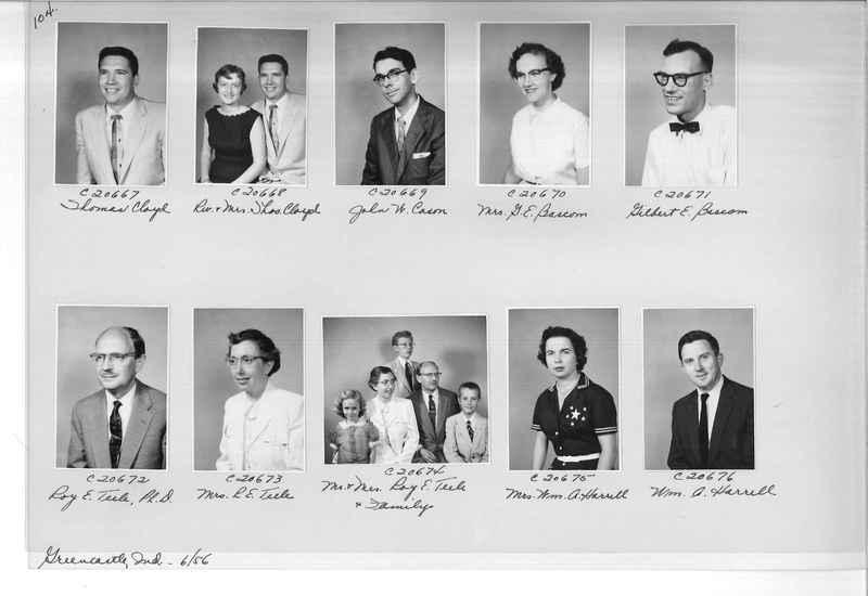 Mission Photograph Album - Portraits #09 Page 0104