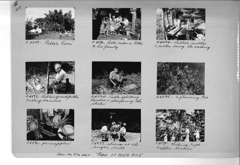 Mission Photograph Album - Panama #05 page 0020