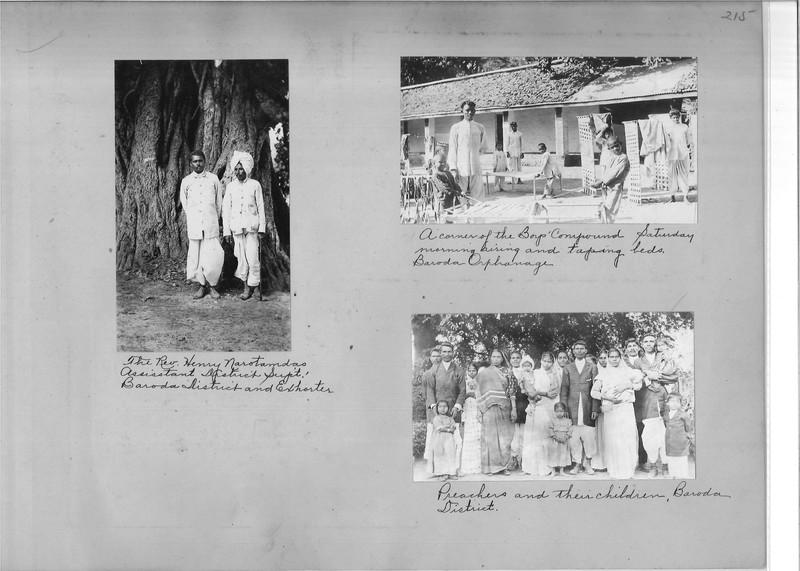 Mission Photograph Album - India - O.P. #02 Page 0215