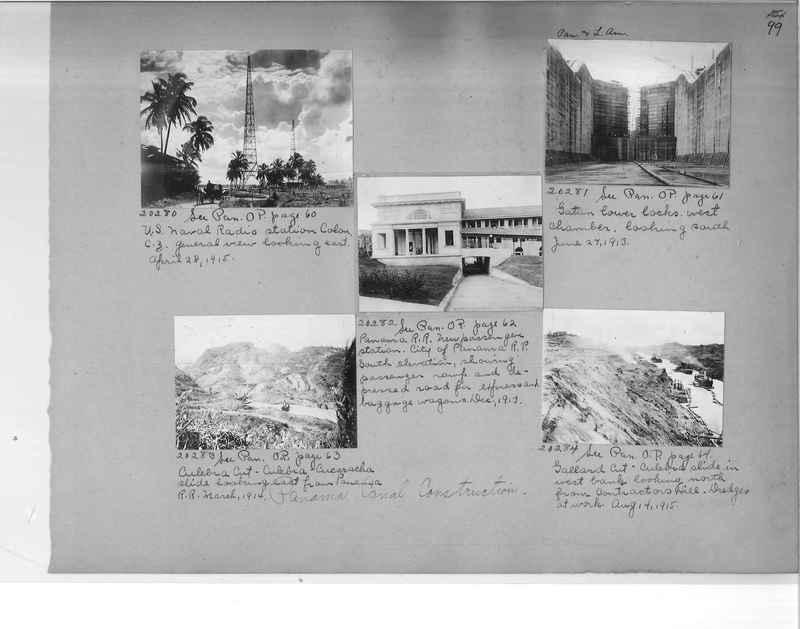 Mission Photograph Album - Panama #1 page  0099