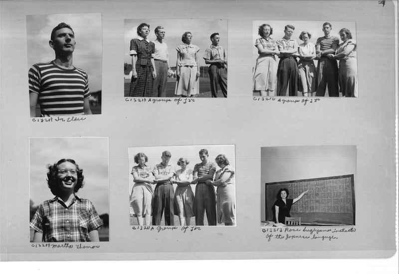 Mission Photograph Album - Portraits #13 Page 0029