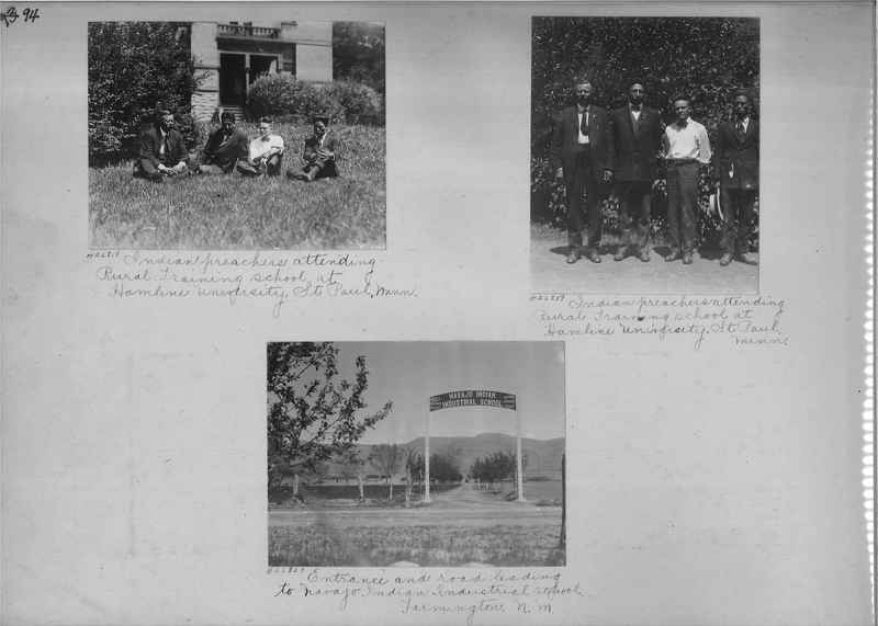 Mission Photograph Album - Indians #2 page_0094