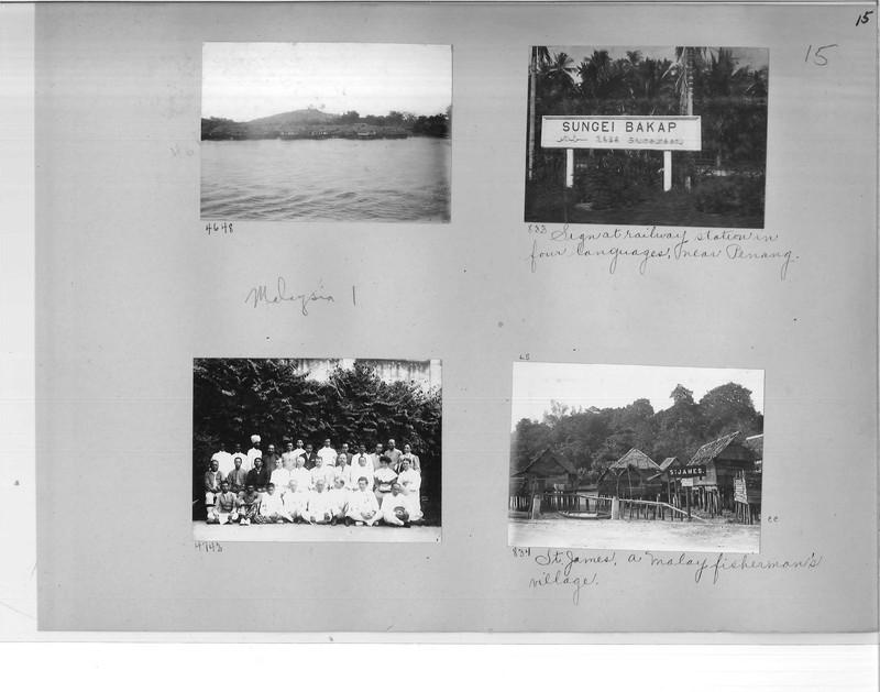 Mission Photograph Album - Malaysia #1 page 0015