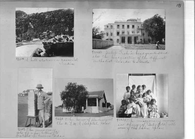 Mission Photograph Album - India #10 Page 0173