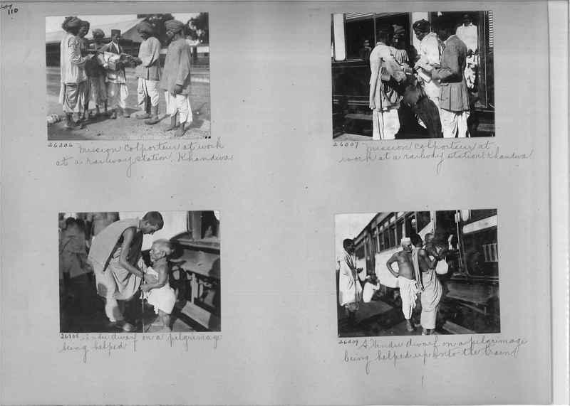 Mission Photograph Album - India #04 page_0110