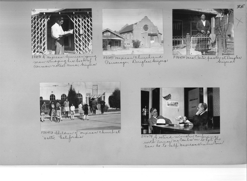 Mission Photograph Album - Latin America #2 page 0035