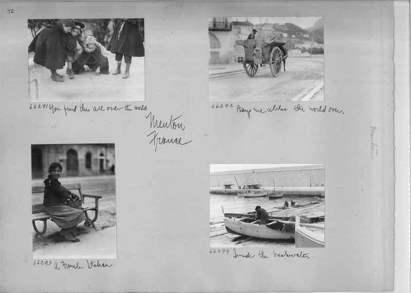 Mission Photograph Album - Europe #05 Page 0072