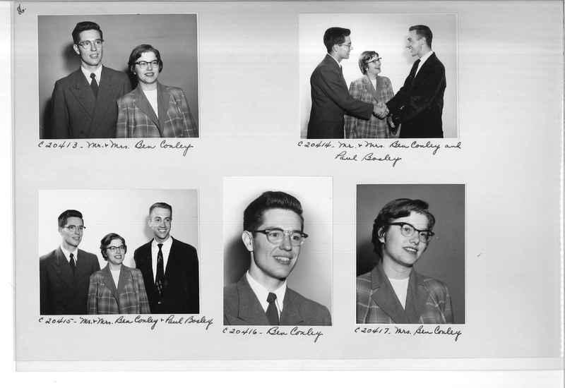 Mission Photograph Album - Portraits #09 Page 0086