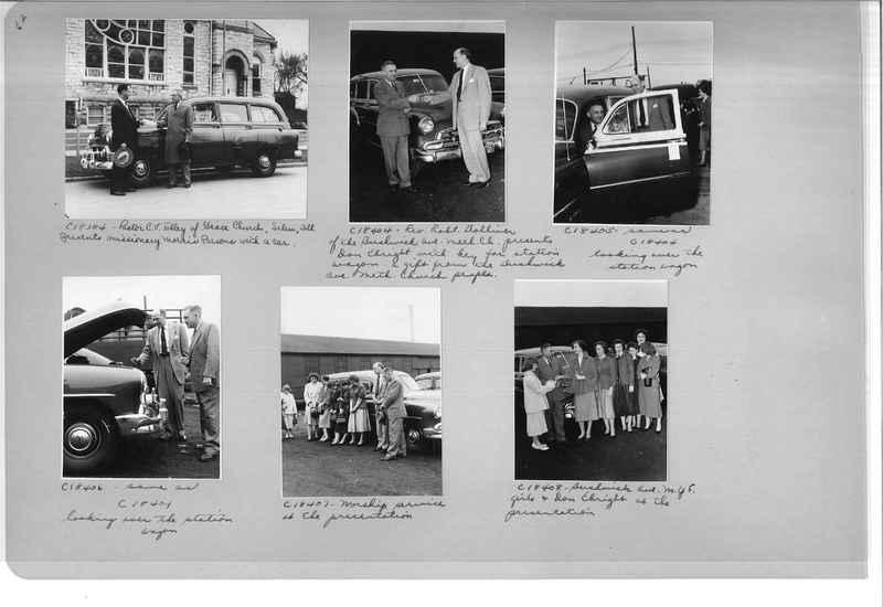 Mission Photograph Album - Portraits #13 Page 0062