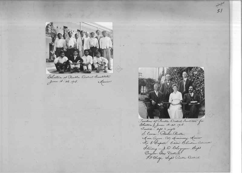 Mission Photograph Album - Mexico - O.P. #01 Page 0051