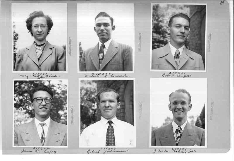 Mission Photograph Album - Portraits #07 Page 0055
