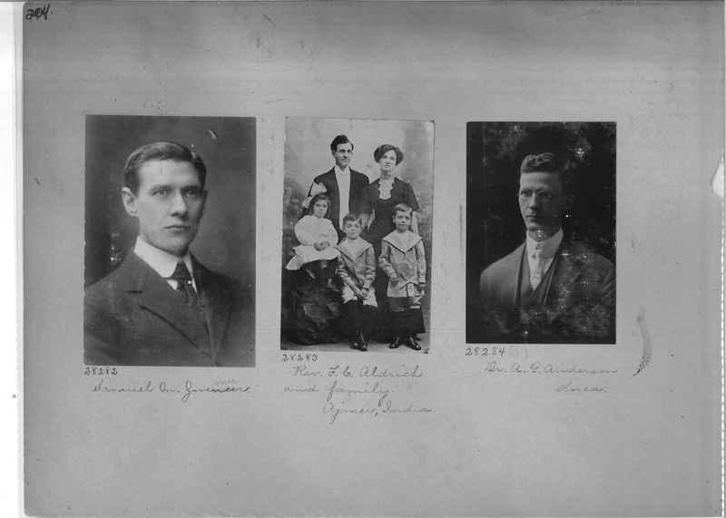 Mission Photograph Album - Portraits #1 page 0204